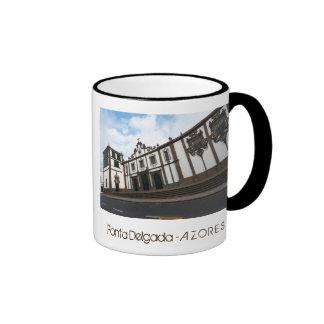 Carlos Machado Museum Ringer Coffee Mug