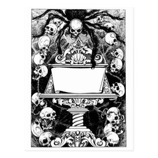 Carlos Neve, Book Illustration circa 1947 Mexico Postcard