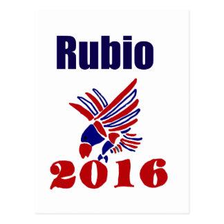 Carlos Rubio for President Political Art Postcard