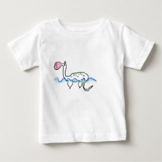 Carlos the Dinosaur enjoys his gum. Baby T-Shirt