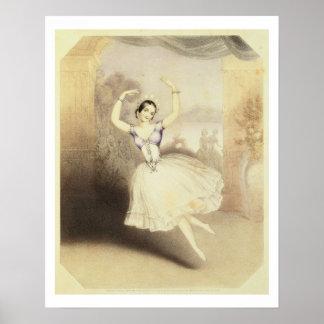 Carlotta Grisi (1819-99) en el ballet del Peri Impresiones