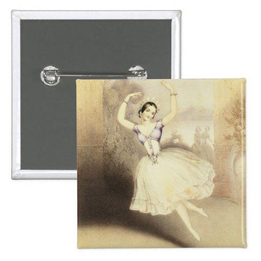 Carlotta Grisi (1819-99) en el ballet del Peri Pins