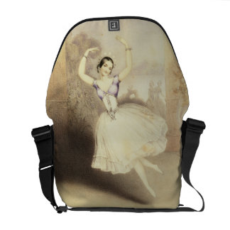 Carlotta Grisi (1819-99) in the Ballet of the Peri Courier Bag