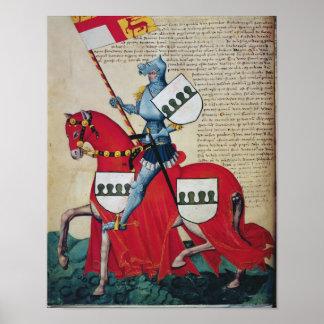 Carlotto Capodilista dei Transelgaldi Poster
