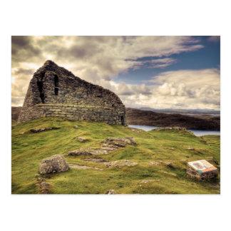 Carloway Broch Postcard