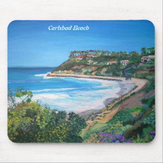 Carlsbad Beach - Mousepad