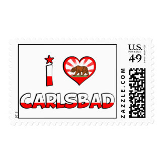Carlsbad, CA Postage Stamps