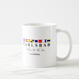 Carlsbad CA - Village By The Sea Coffee Mug