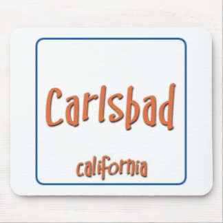 Carlsbad California BlueBox Mouse Pad