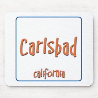 Carlsbad California BlueBox Alfombrillas De Ratón