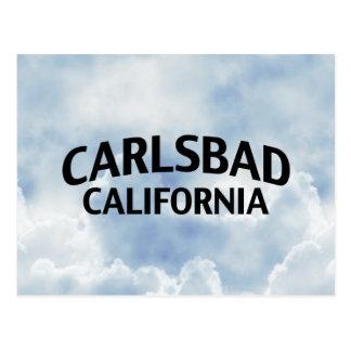 Carlsbad California Postcard