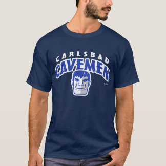 Carlsbad Cavemen Arched Lettering T-Shirt