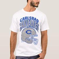 Carlsbad Cavemen Football Shirt