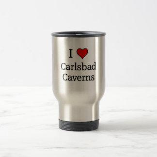 Carlsbad caverns 15 oz stainless steel travel mug