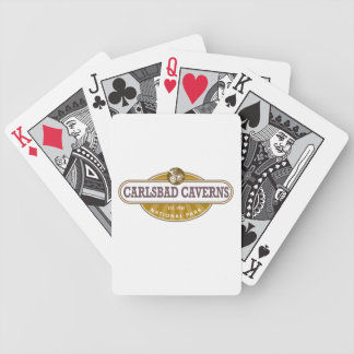 Carlsbad Caverns National Park Bicycle Playing Cards