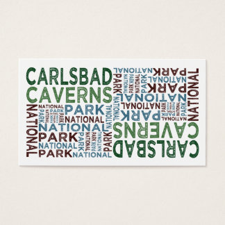 Carlsbad Caverns National Park Business Card