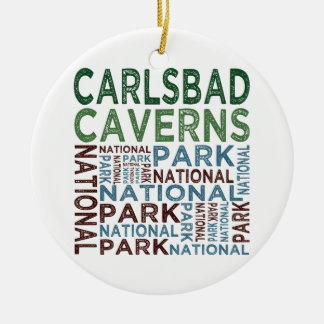 Carlsbad Caverns National Park Ceramic Ornament