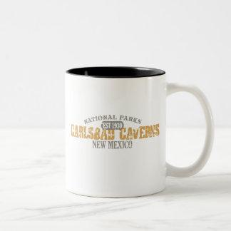 Carlsbad Caverns National Park Two-Tone Coffee Mug