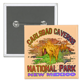 Carlsbad Caverns National Park, New Mexico Buttons
