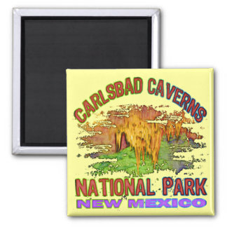 Carlsbad Caverns National Park, New Mexico Magnet