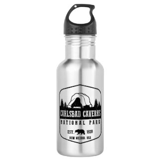 Carlsbad Caverns National Park Stainless Steel Water Bottle