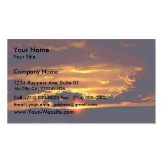 Carlsbad Caverns National Park Sunset Double-Sided Standard Business Cards (Pack Of 100)