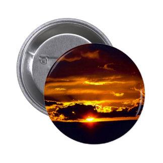 Carlsbad Caverns National Park Sunset Pinback Buttons