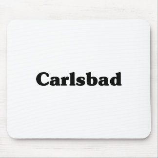 Carlsbad Classic t shirts Mouse Pad
