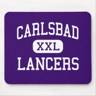 Carlsbad - lanceros - alto - Carlsbad California Tapete De Ratones