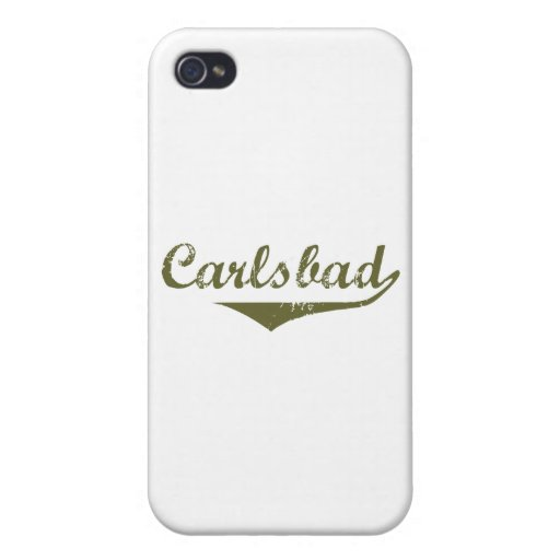 Carlsbad Revolution t shirts iPhone 4 Cover