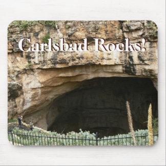 Carlsbad Rocks! Mouse Pad