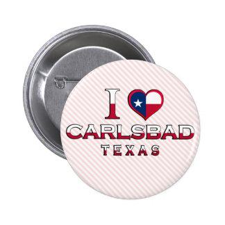 Carlsbad, Texas Pinback Button