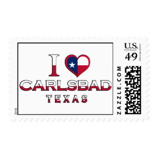 Carlsbad, Texas Stamps