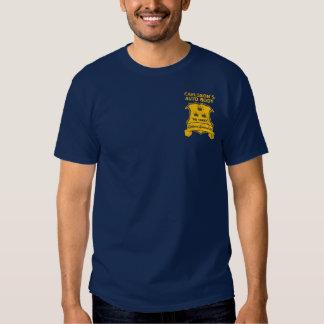 Carlsson auto body  - gold t shirt