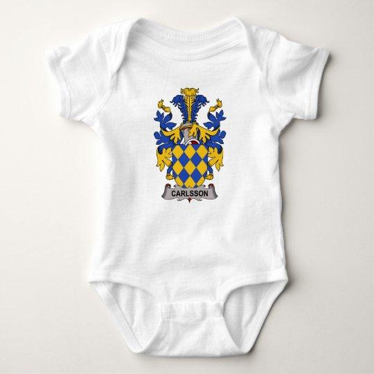 Carlsson Family Crest Baby Bodysuit