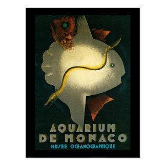 Carlu Aquarium De Monaco Post Cards