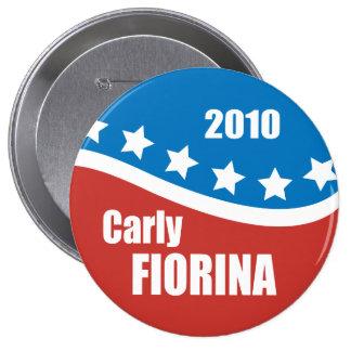 Carly Fiorina 2010 Pin Redondo 10 Cm