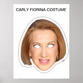 Carly Fiorina Costume Poster