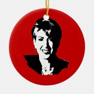 Carly Fiorina Ornamento Para Arbol De Navidad