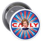 CARLY Fiorina for America 3 Inch Round Button