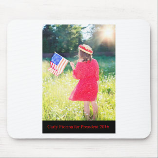 Carly Fiorina for President 2016 Mouse Pad