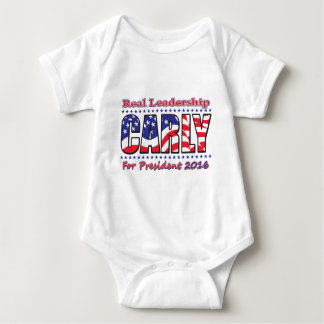 Carly Fiorina for President Baby Bodysuit