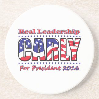 Carly Fiorina for President Coaster