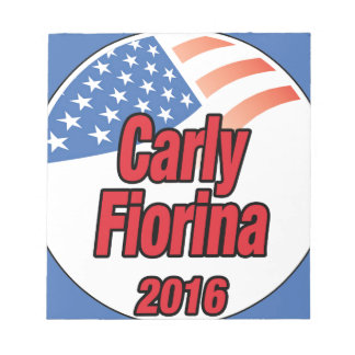 Carly Fiorina for president in 2016 Notepad