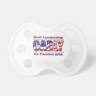 Carly Fiorina for President Pacifier