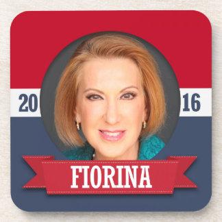 Carly Fiorina para el presidente 2016 Posavaso