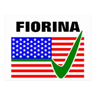 Carly Fiorina para el presidente 2016 Postales