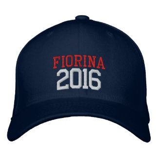 Carly Fiorina President 2016 Embroidered Baseball Hat