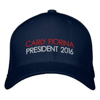 CARLY FIORINA President 2016 Embroidered Baseball Caps