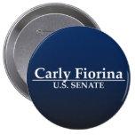 Carly Fiorina U.S. Senate Pinback Button